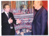 Enfield Civic Centre with Councillor Ertan, 2007